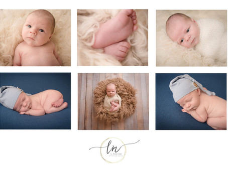 Richmond VA Newborn Midlothian Baby Photographer| L Nicole Photography