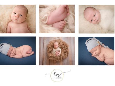 Richmond VA Newborn Midlothian Baby Photographer  L Nicole Photography
