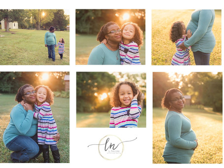Mommy and Me Session| Meadow Farm Park| L Nicole Photography