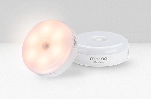 Luz com sensor de presença noturno recarregável Luzinha ®