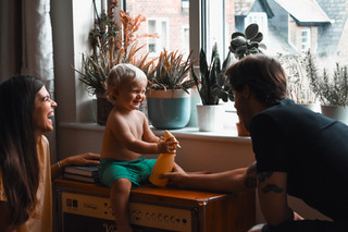 Family Lifestyle Indoors