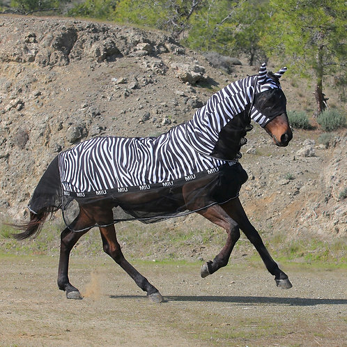 Попона антимоскитная MIU Eguus Zebra.