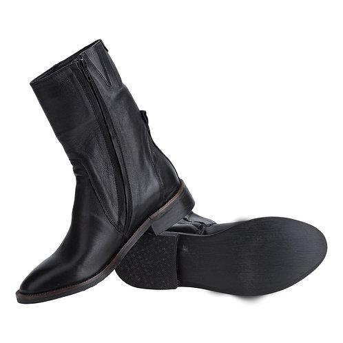 Ботинки высокие на молнии