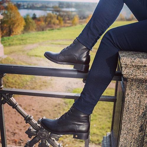 Ботинки для верховой езды на шнуровке
