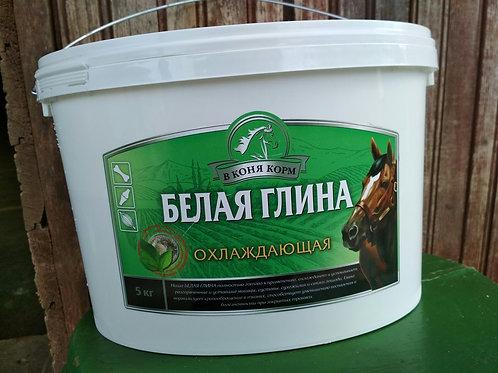 ГЛИНА БЕЛАЯ охлаждающая 5 кг