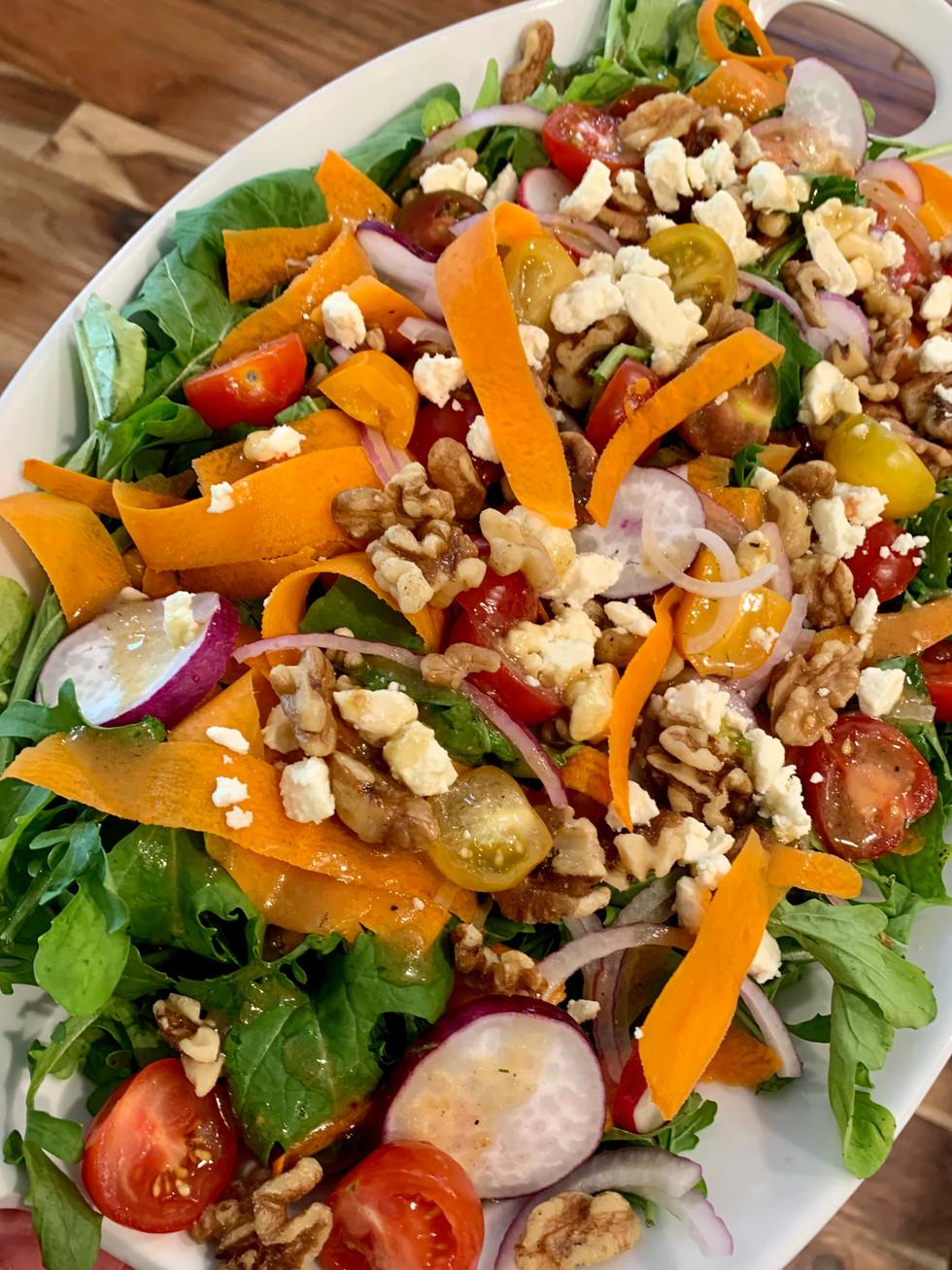 Arugula & Chickpea Salad