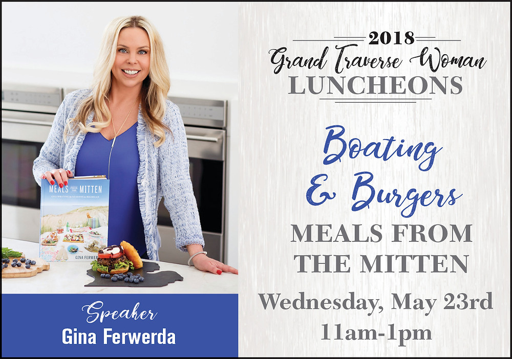 Grand Traverse Woman Luncheons 2018 - Gina Ferwerda