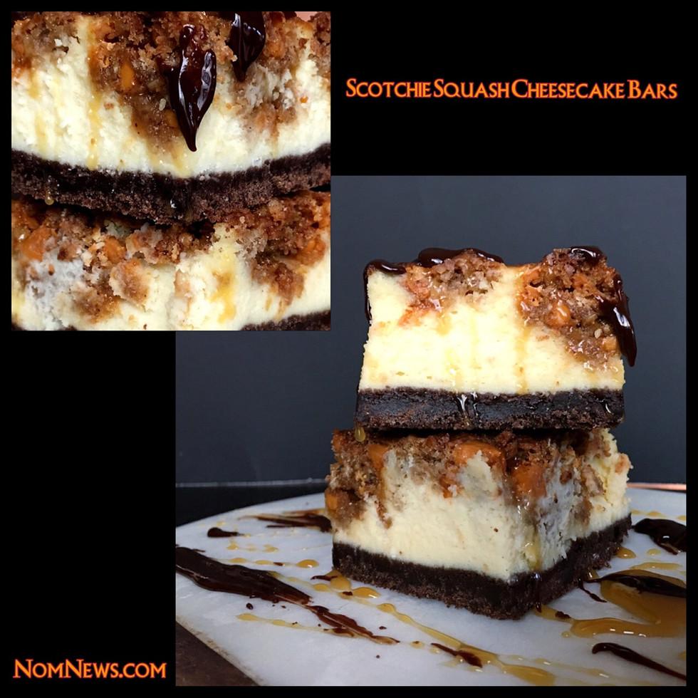 Scotchie Squash Cheesecake Bars