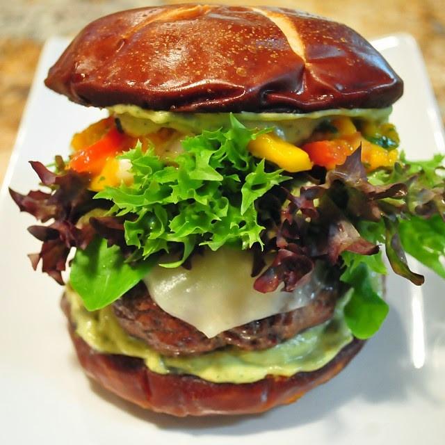 Shakin' Chipotle Cherry Burger