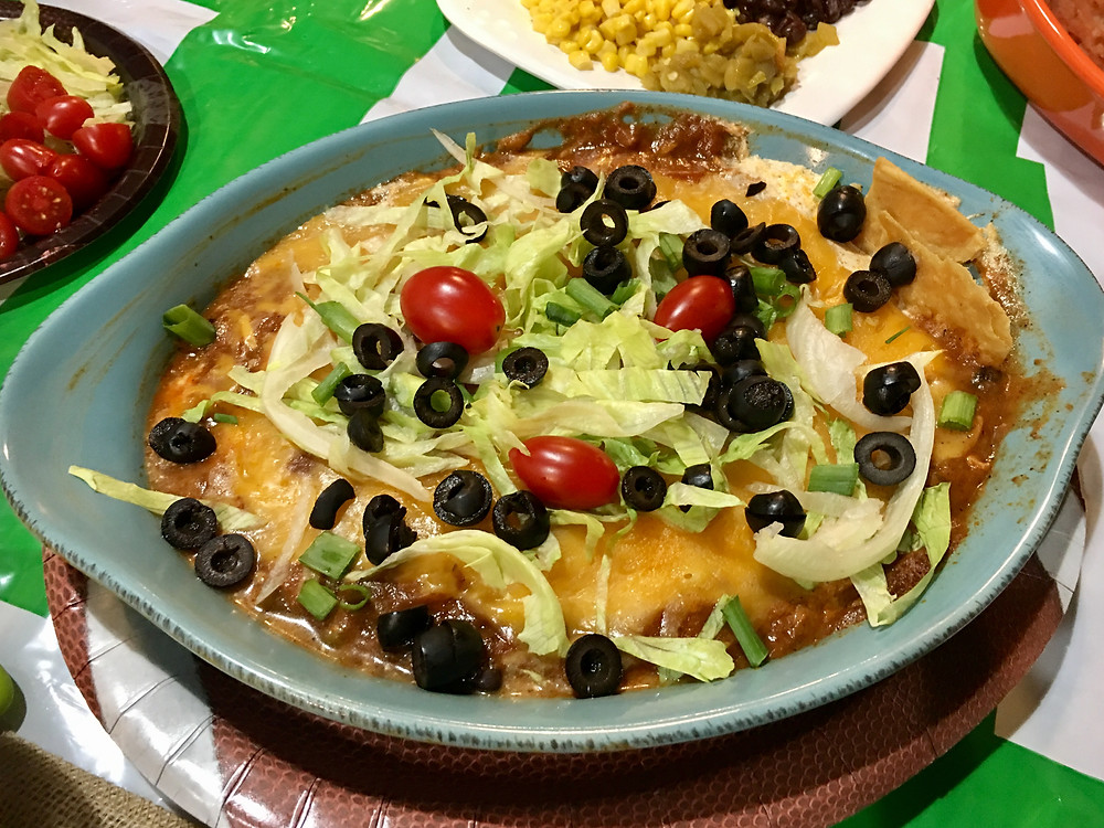 Cheesy Enchilada Dip