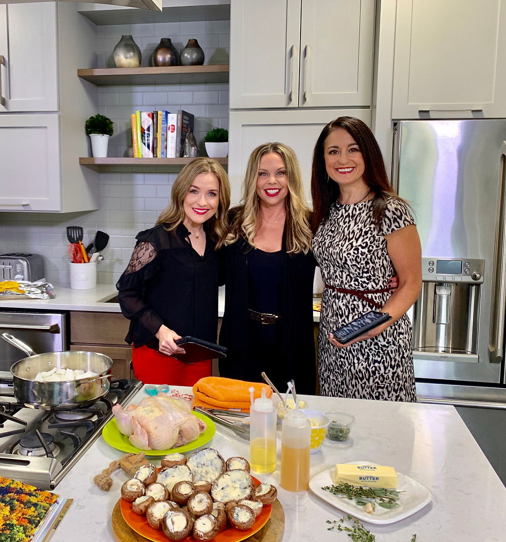 Melissa, Gina & Michelle on The Four