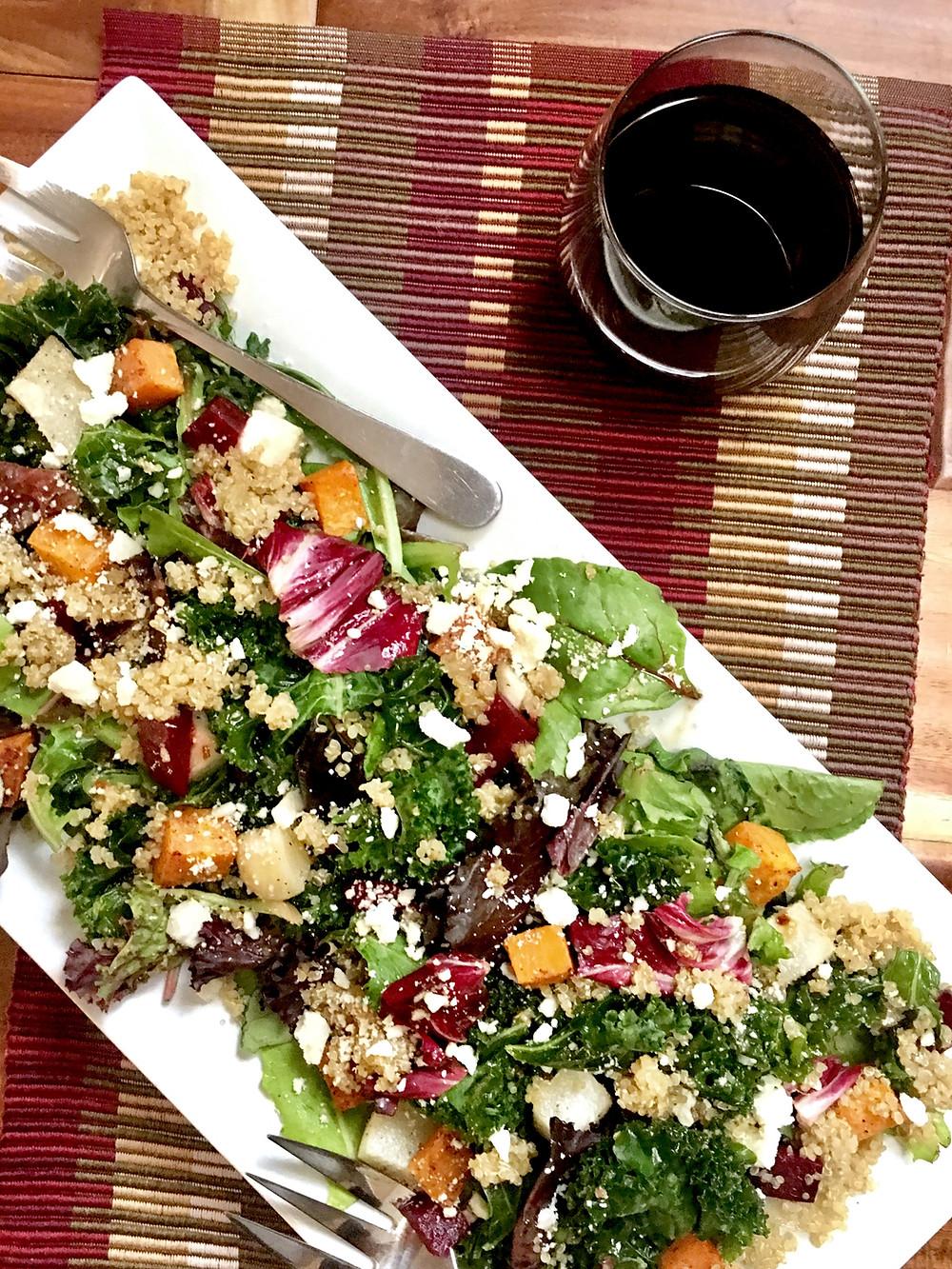 Cookbook Spring 2018 - Fall Harvest Salad