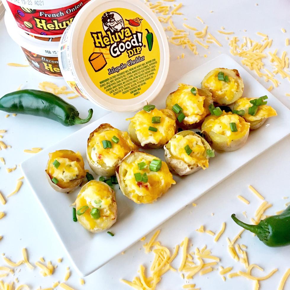 Heluva Good! Jalapeño Cheddar Potato Bites