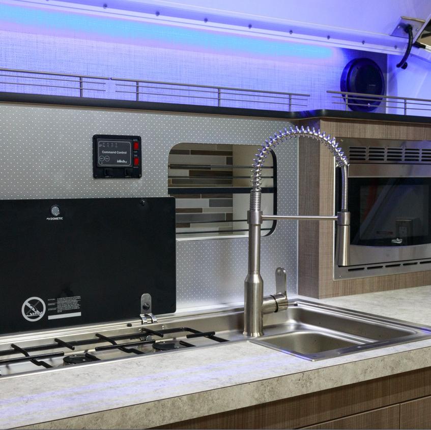 Luna RV Kitchen