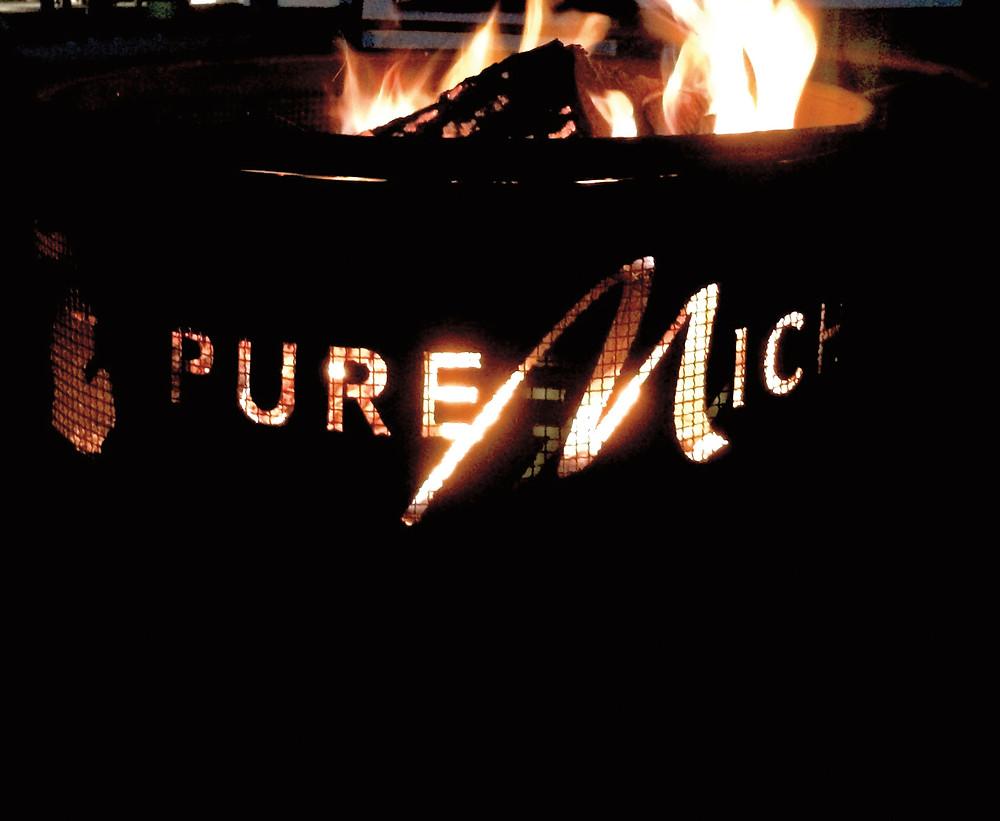 Pure Michigan fire pit