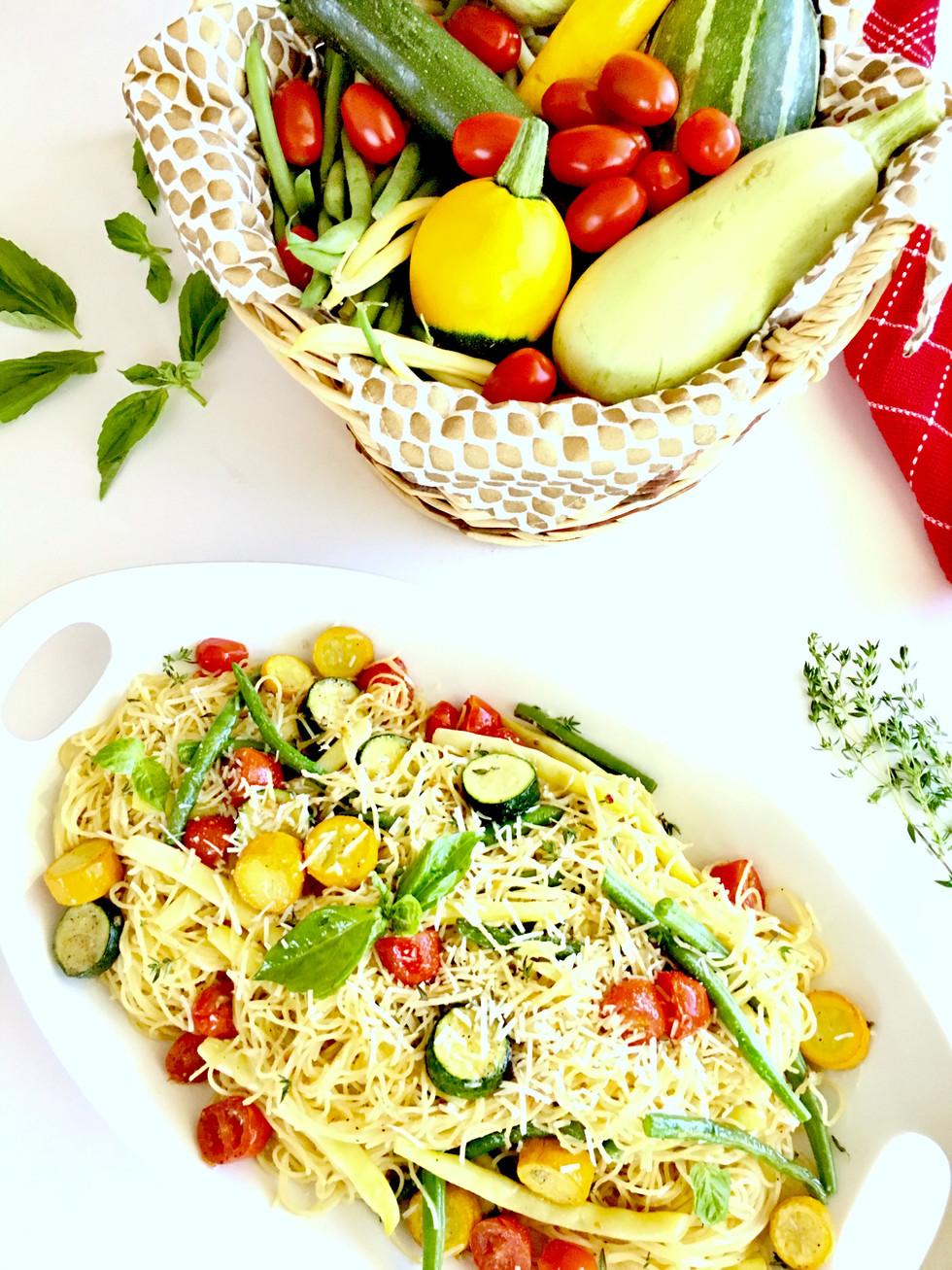 Summer Veggie Pasta