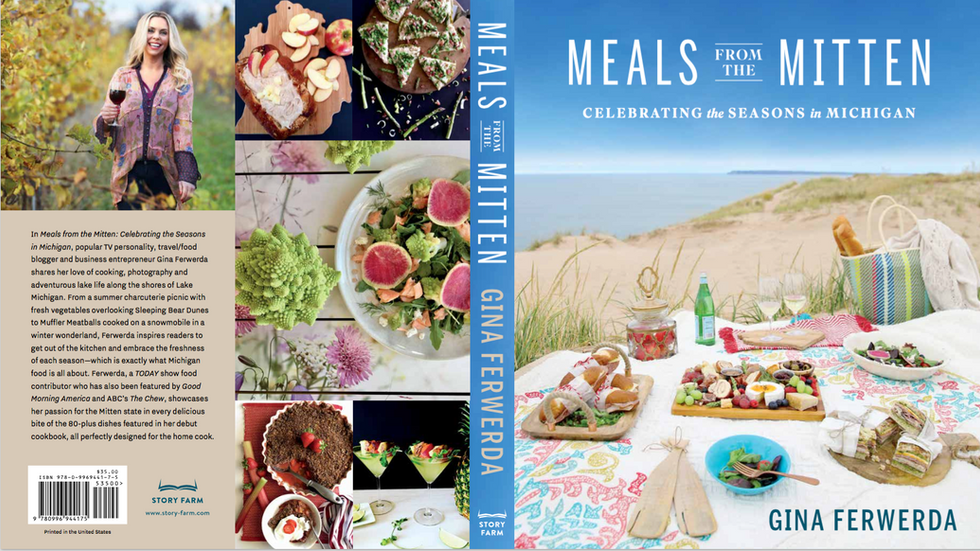 Spring Cookbook 2018, Meals From the Mitten, will be released on April 10th
