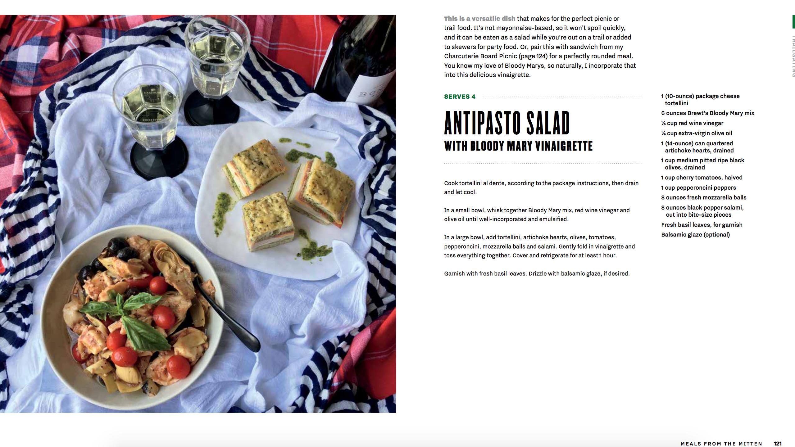 Antipasto Salad with Bloody Mary Vinaigr