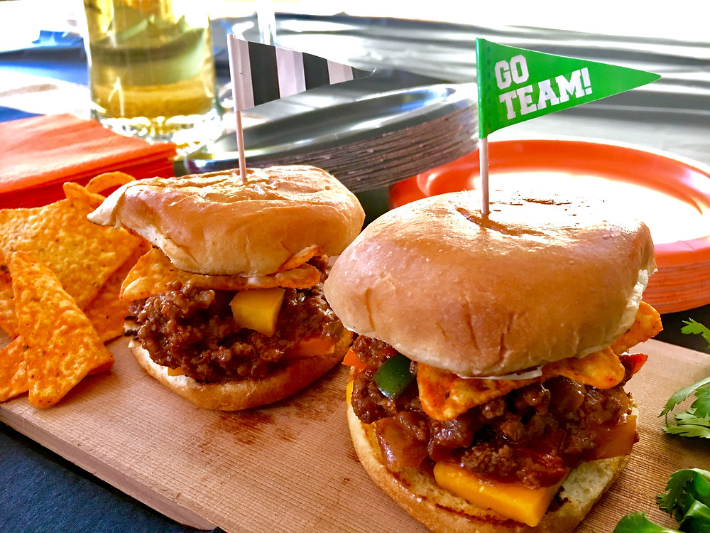 Game Day Sloppy Sliders