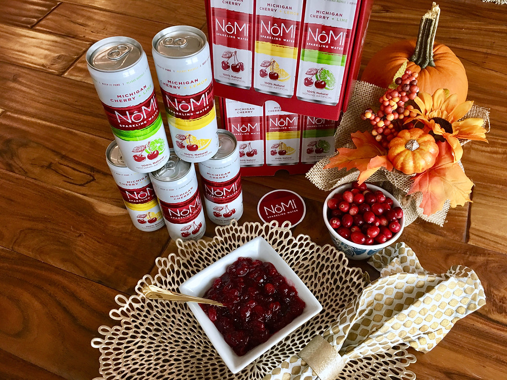 Cherry-Lemon Cranberry Sauce