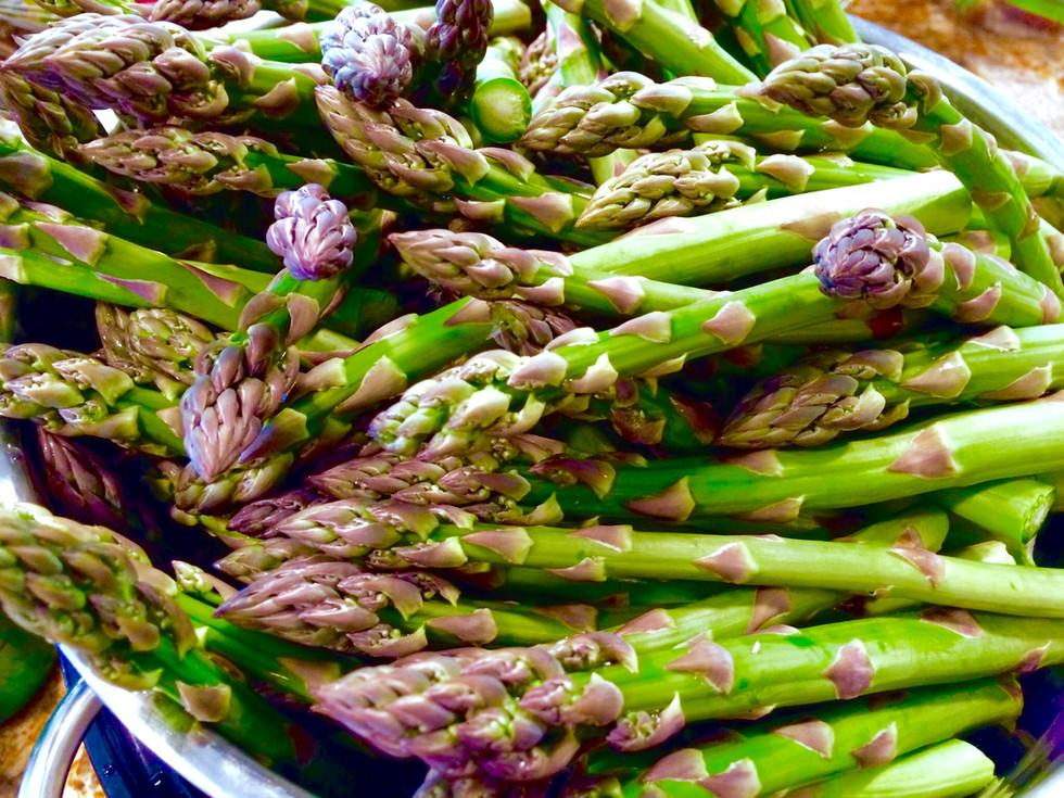 Soba Noodle Asparagus Chicken Satay