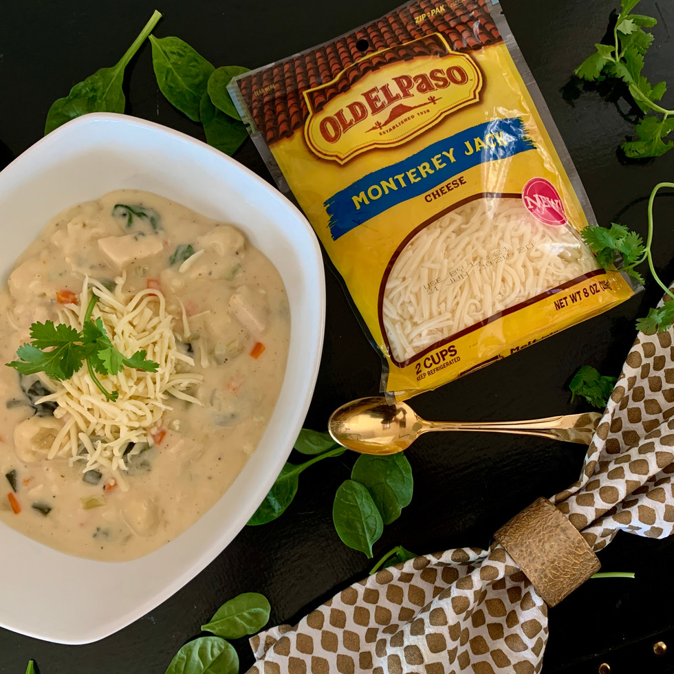 Chicken and Gnocchi Cheese Soup