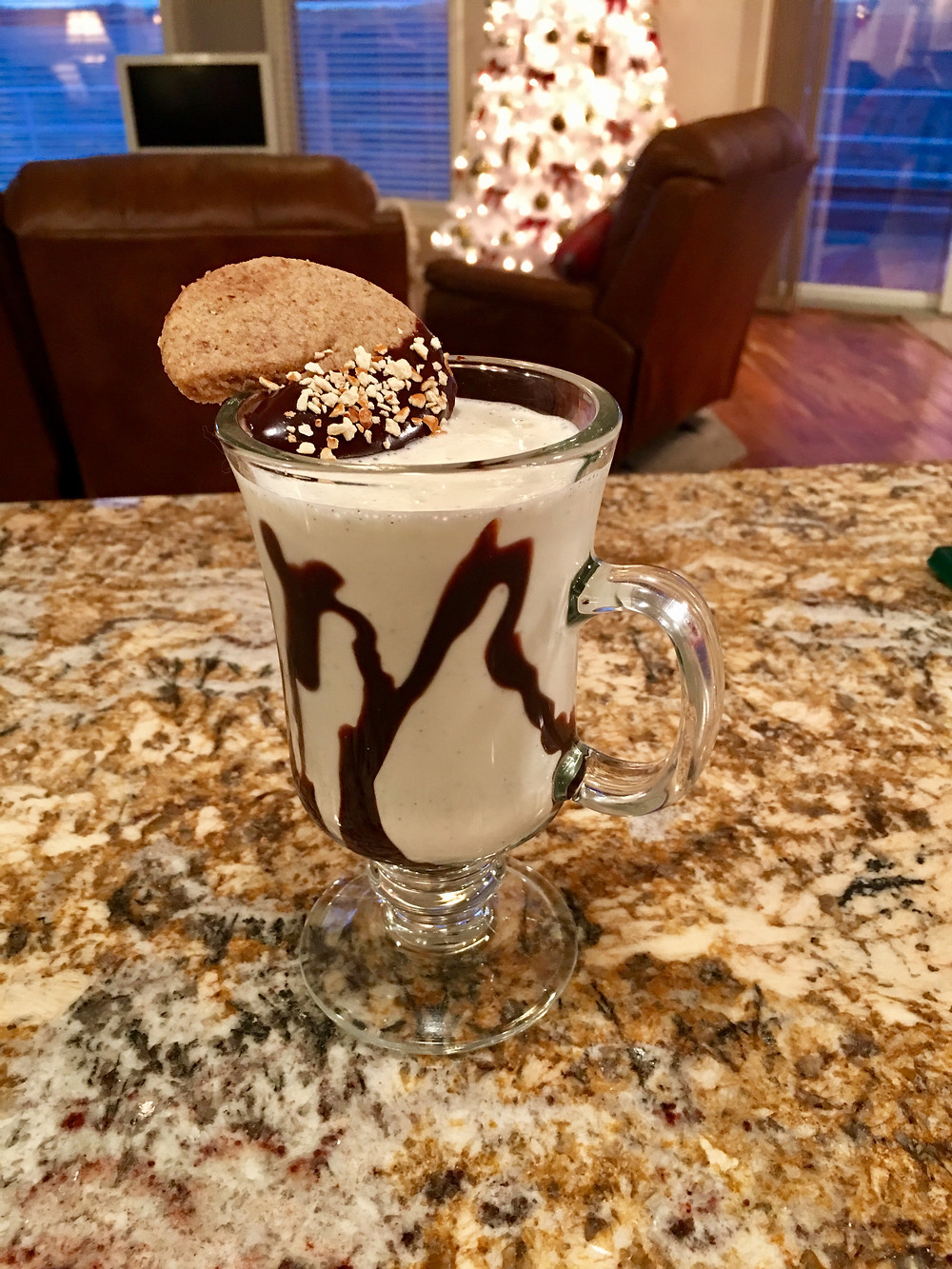 Golden Cadillac Cookie Shake