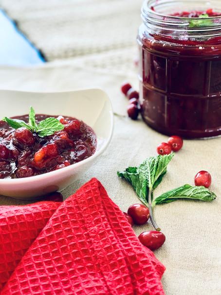 Orange Pineapple Cranberry Sauce