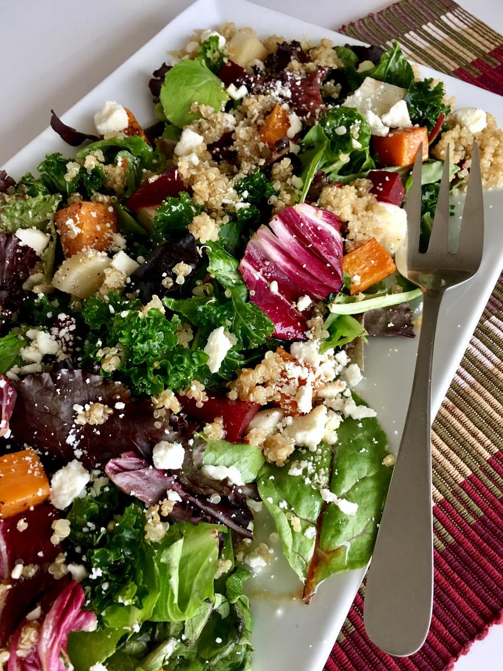 Cookbook Spring 2018 ~ Fall Harvest Salad ~