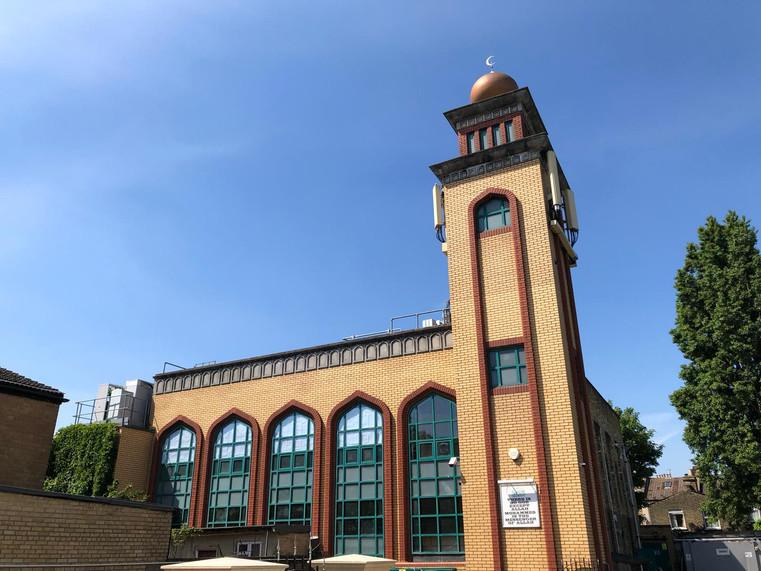 Masjid Tawhid Rear View