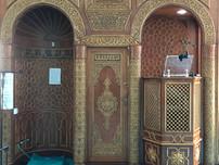 Main prayer hall mimbar