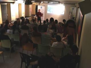 Sebastian Joy presentation advocating ProVeg & Veganism.