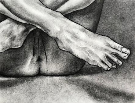 Untitled foot study