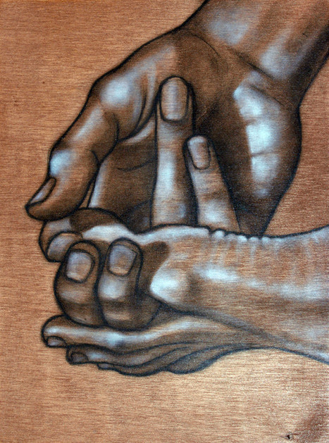 Untitled Hand Study 10