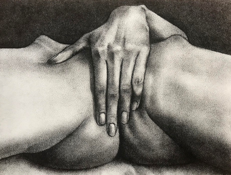 Untitled hand study (C.)