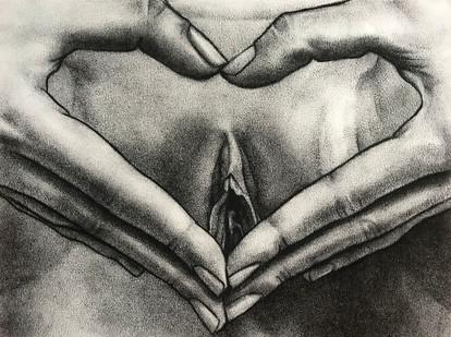 Untitled hand study (H.)