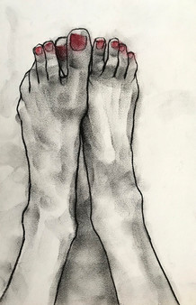 Untitled (Foot Study)