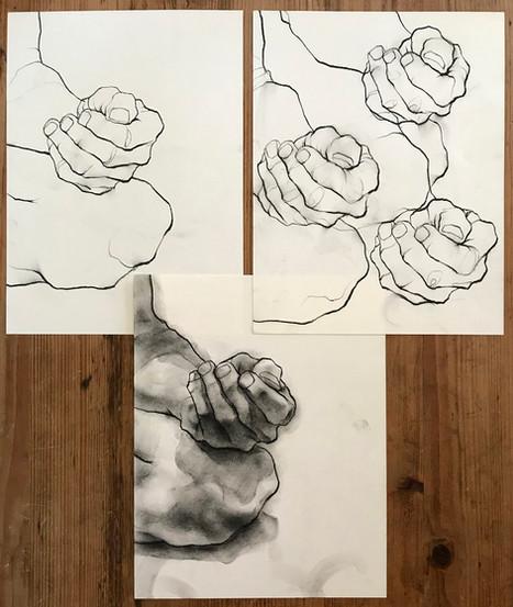 Three Hand Studies