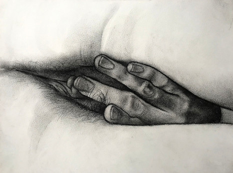 Untitled hand study (S.)