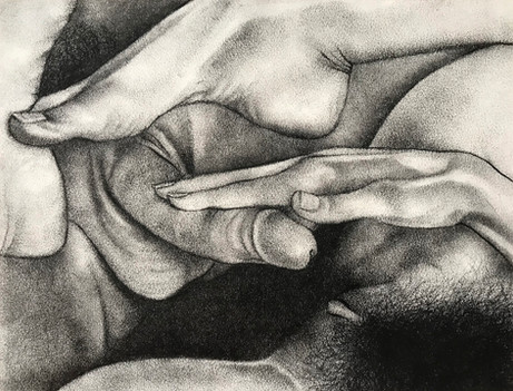 Untitled hand and foot study (T. and L.)