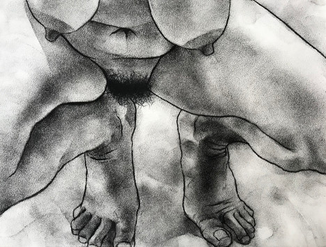 Untitled nude (L.)