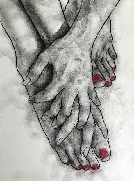 Untitled (Hand and Foot Study)