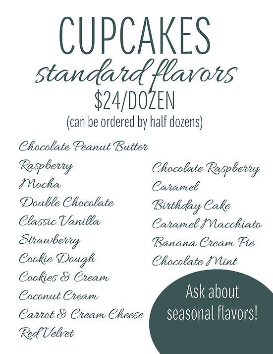 Cupcake Standard Flavors.jpg
