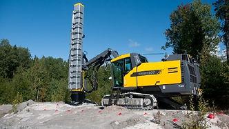 silenced drill rig