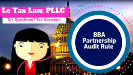 The New Partnership Audit Rule (1 of 2)
