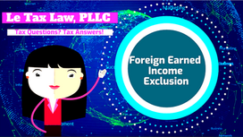 Foreign Earnings Income Exclusion