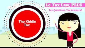 The Kiddie Tax