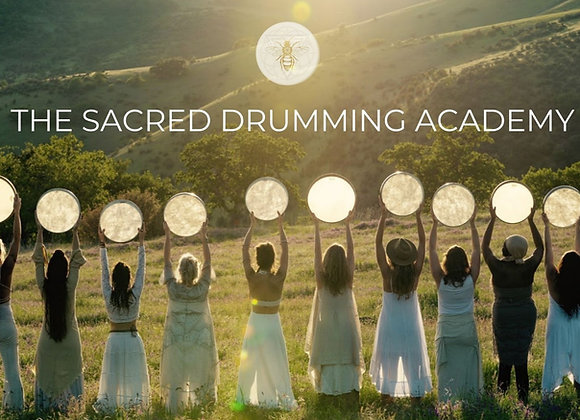 THE SACRED DRUMMING ACADEMY REGISTRATION (Now Closed)