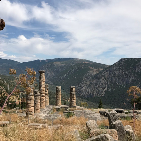 Apollo Temple Delphi, Greece