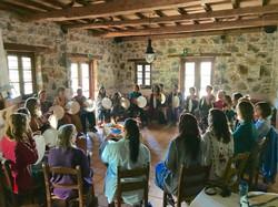 Sacred Drumming Crete, Greece